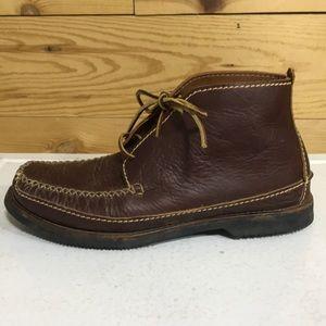 Men's Chippewa chukka lace up moccasin boots 10.5